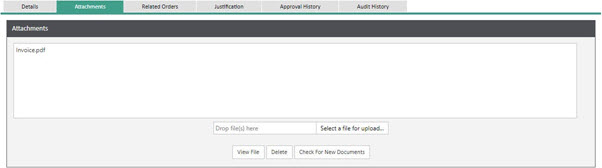 WAP Invoice Module Help and User Guide - Invoice HUG Section 11.2 Image 1