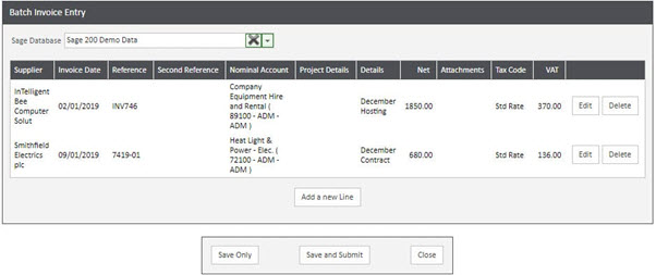 WAP Invoice Module Help and User Guide - Invoice HUG Section 13 Image 1