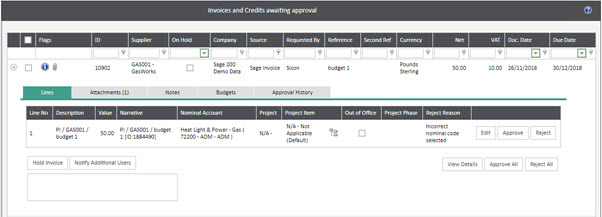 WAP Invoice Module Help and User Guide - Invoice HUG Section 17.2 Image 4