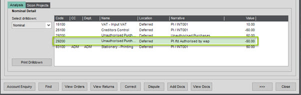 WAP Invoice Module Help and User Guide - Invoice HUG Section 18.1 Image 7