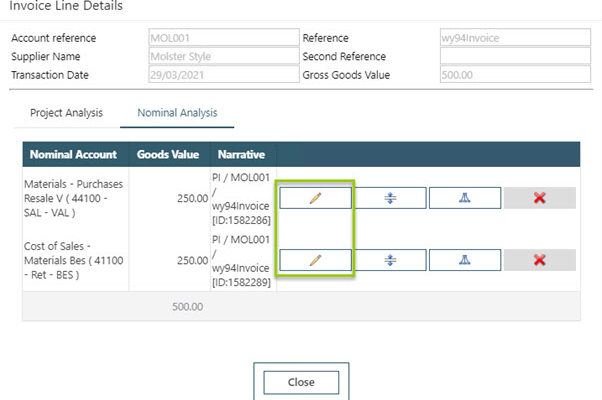 WAP Invoice Module Help and User Guide - Invoice HUG Section 20.1 Image 6