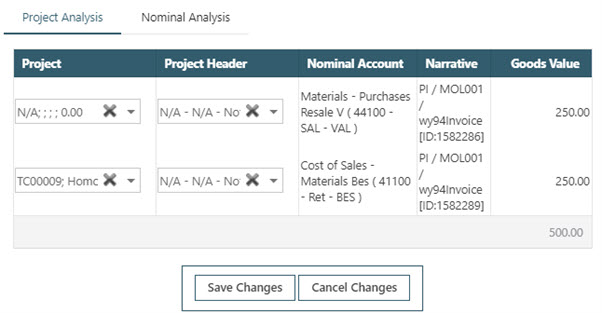 WAP Invoice Module Help and User Guide - Invoice HUG Section 20.1 Image 7
