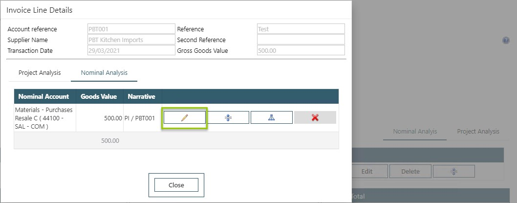 WAP Invoice Module Help and User Guide - Invoice HUG Section 20.2 Image 7.5