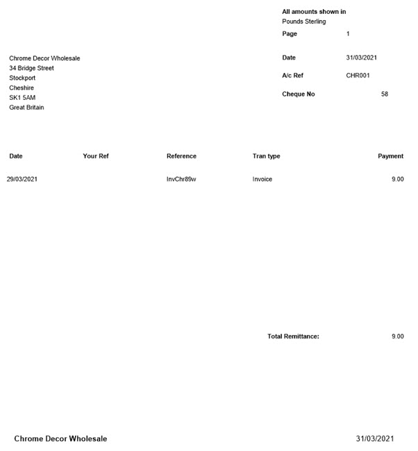 WAP Invoice Module Help and User Guide - Invoice HUG Section 23.4 Image 5