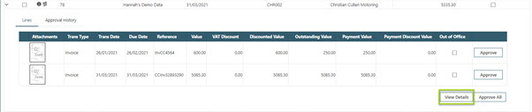 WAP Invoice Module Help and User Guide - Invoice HUG Section 23.5 Image 1