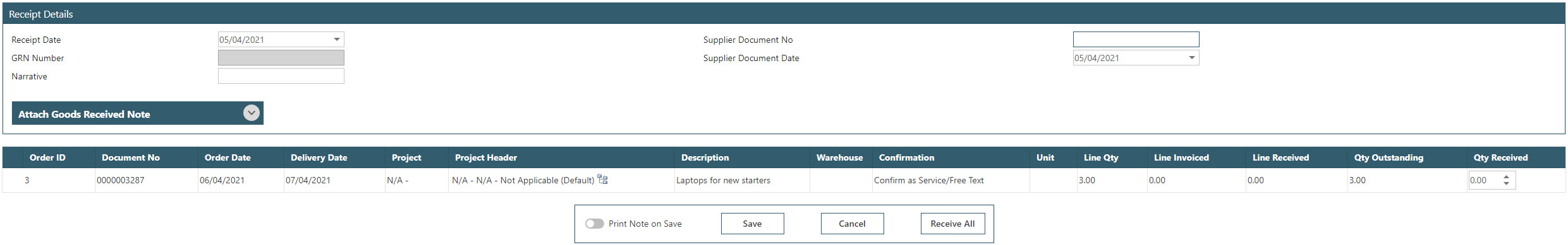 Sicon WAP Purchase Requisitions Help and User Guide - Requisition HUG Section 10.1 Image 1