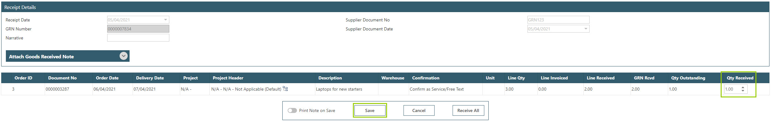 Sicon WAP Purchase Requisitions Help and User Guide - Requisition HUG Section 10.3 Image 2