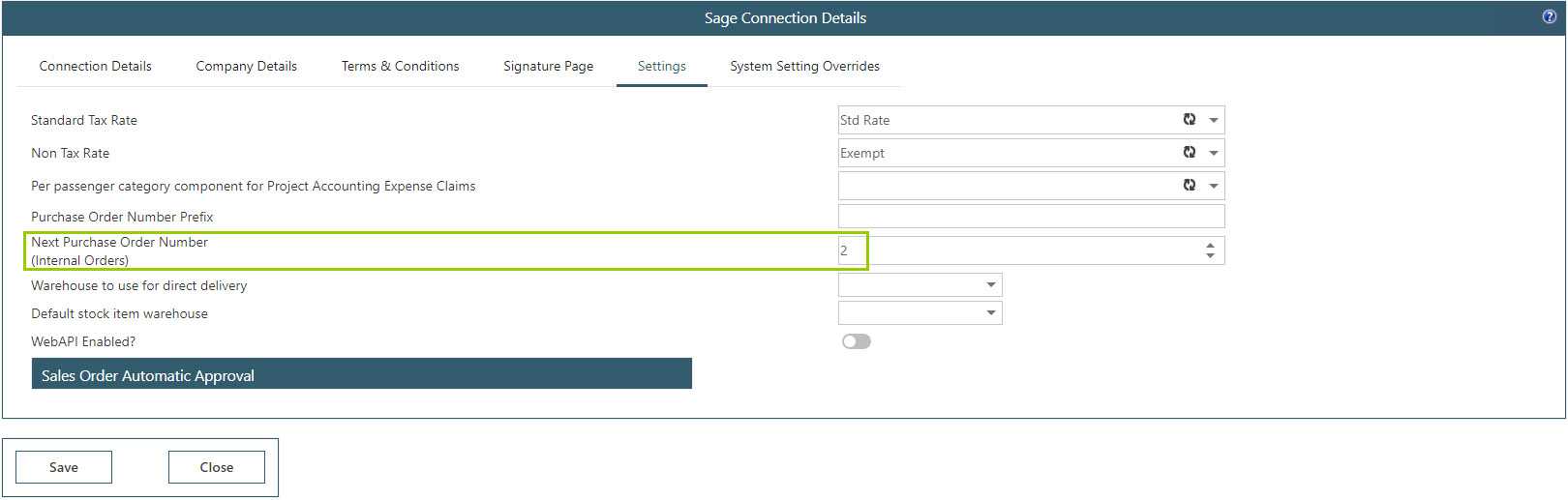 Sicon WAP Purchase Requisitions Help and User Guide - Requisition HUG Section 14.3 Image 1