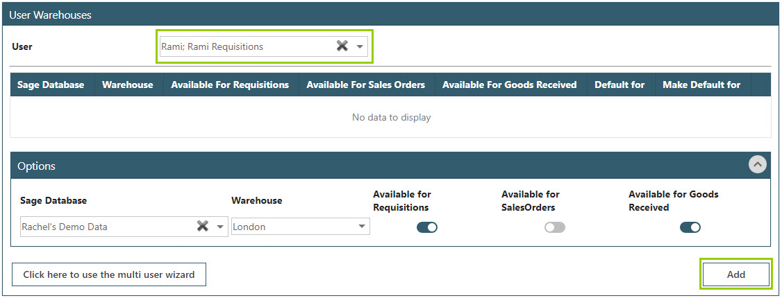 Sicon WAP Purchase Requisitions Help and User Guide - Requisition HUG Section 15.4 Image 2