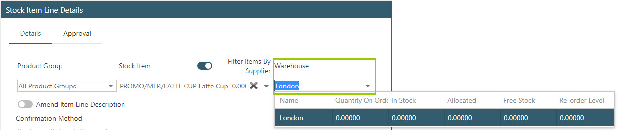 Sicon WAP Purchase Requisitions Help and User Guide - Requisition HUG Section 15.5 Image 1