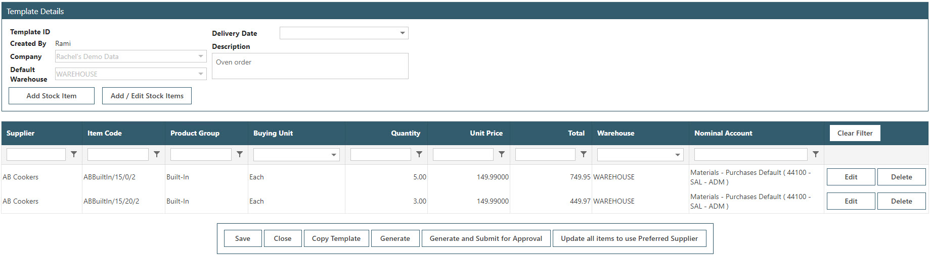 Sicon WAP Purchase Requisitions Help and User Guide - Requisition HUG Section 17.2 Image 5