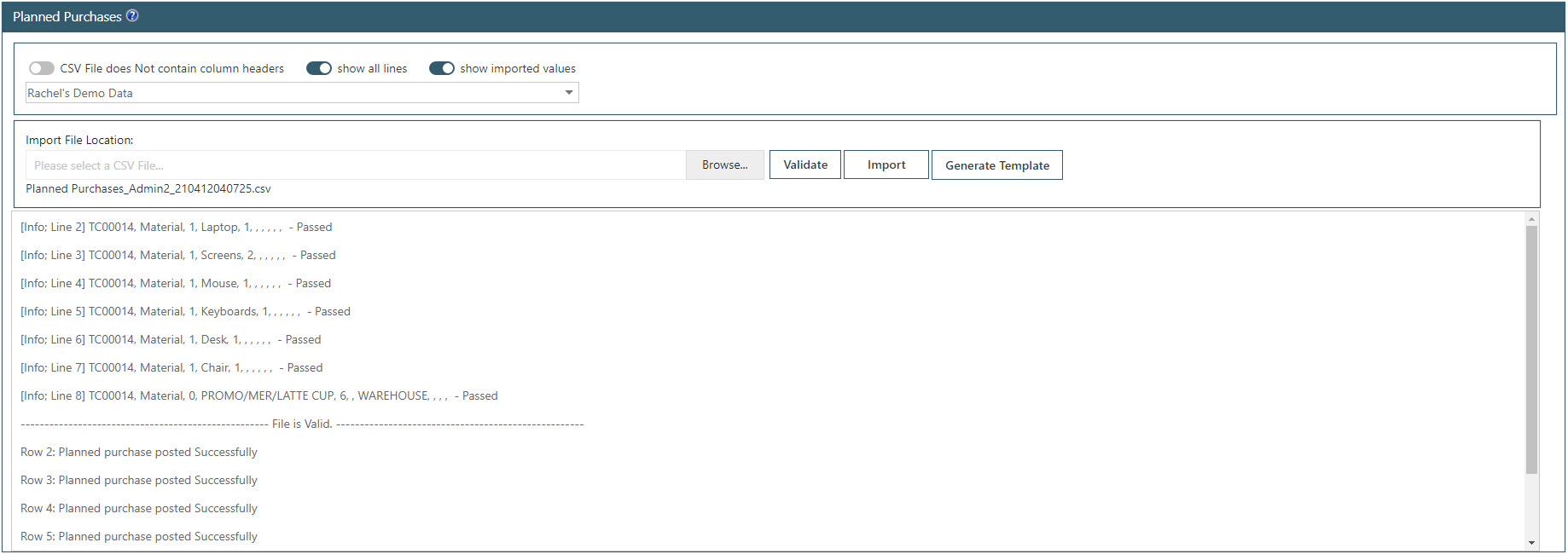 Sicon WAP Purchase Requisitions Help and User Guide - Requisition HUG Section 24.2 Image 2