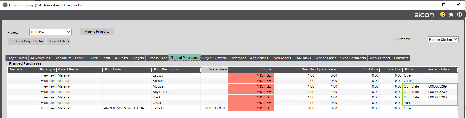 Sicon WAP Purchase Requisitions Help and User Guide - Requisition HUG Section 24.4 Image 1