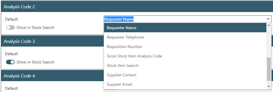 Sicon WAP Purchase Requisitions Help and User Guide - Requisition HUG Section 25.7 Image 2