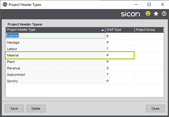 Sicon WAP Purchase Requisitions Help and User Guide - Requisition HUG Section 4.1 Image 2