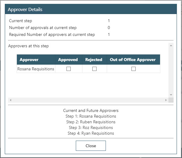 Sicon WAP Purchase Requisitions Help and User Guide - Requisition HUG Section 5.8 Image 2