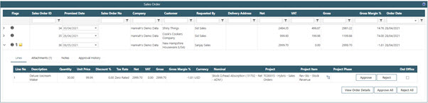 Sicon WAP Sales Order Help and User Guide - Sales Order HUG Section 19.1 Image 1