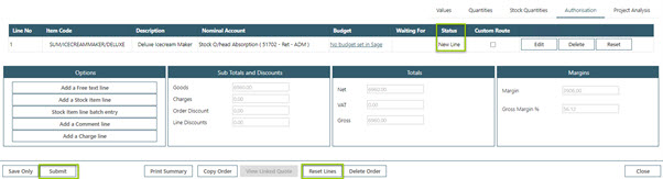 Sicon WAP Sales Order Help and User Guide - Sales Order HUG Section 19.2 Image 4