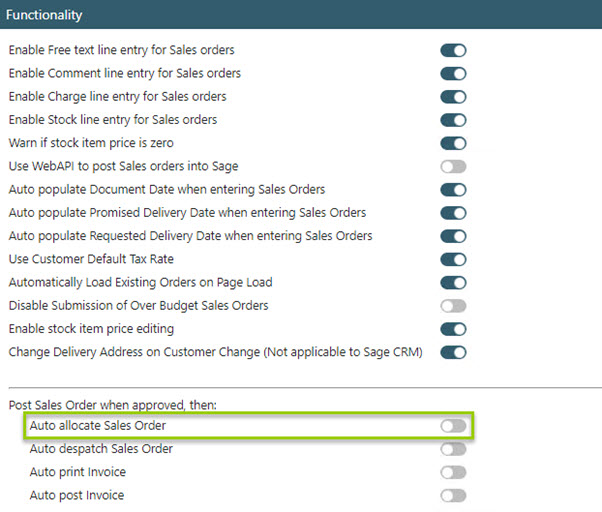 Sicon WAP Sales Order Help and User Guide - Sales Order HUG Section 23 Image 1