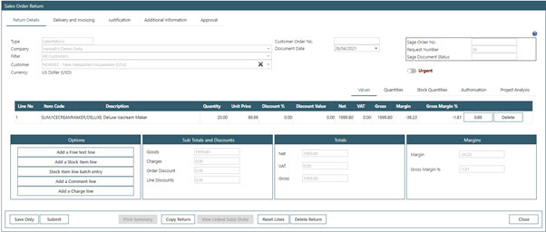 Sicon WAP Sales Order Help and User Guide - Sales Order HUG Section 24.5 Image 2
