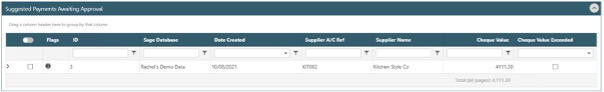 Sicon WAP Invoices Help & Users Guide Section 23.3 Image 4