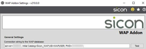 Sicon WAP Add-on Help and User Guide - WAP Addon HUG Section 2.2 Image 1