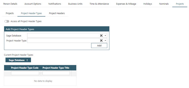 Sicon WAP Expenses Help and User Guide - WAP Expenses HUG Section 10.6 Image 2