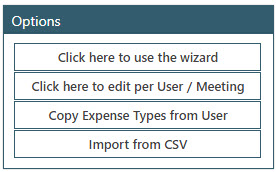 Sicon WAP Expenses Help and User Guide - WAP Expenses HUG Section 13.2 Image 1