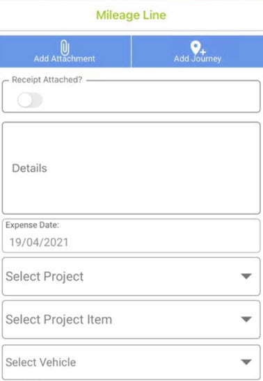 Sicon WAP Expenses Help and User Guide - WAP Expenses HUG Section 16.5 Image 4