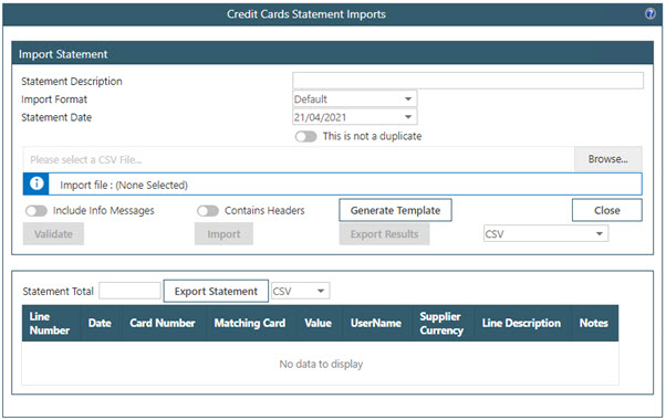 Sicon WAP Expenses Help and User Guide - WAP Expenses HUG Section 21.5 Image 1