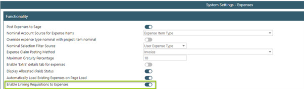Sicon WAP Expenses Help and User Guide - WAP Expenses HUG Section 24.1 Image 1