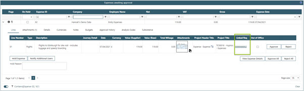 Sicon WAP Expenses Help and User Guide - WAP Expenses HUG Section 24.3 Image 2