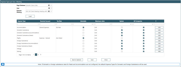 Sicon Contracts Help and User Guide - WAP Expenses HUG Section 25.5 Image 1