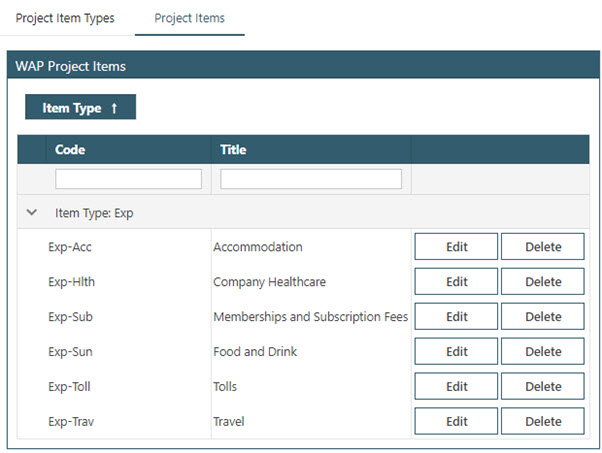 Sicon WAP Expenses Help and User Guide - WAP Expenses HUG Section 4.3 Image 2