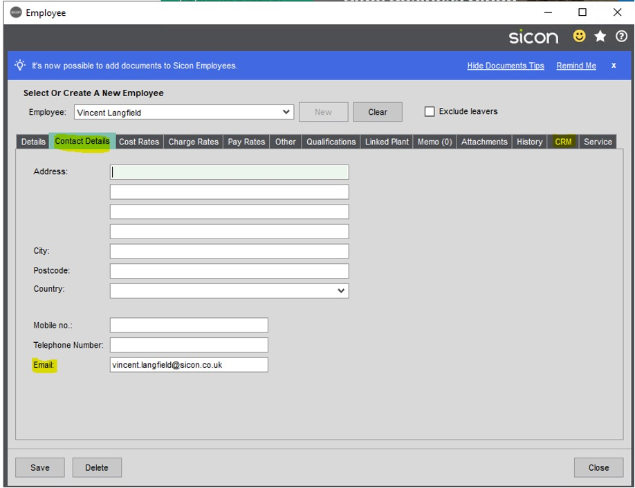 Sicon CRM Section 11.1 Image 3