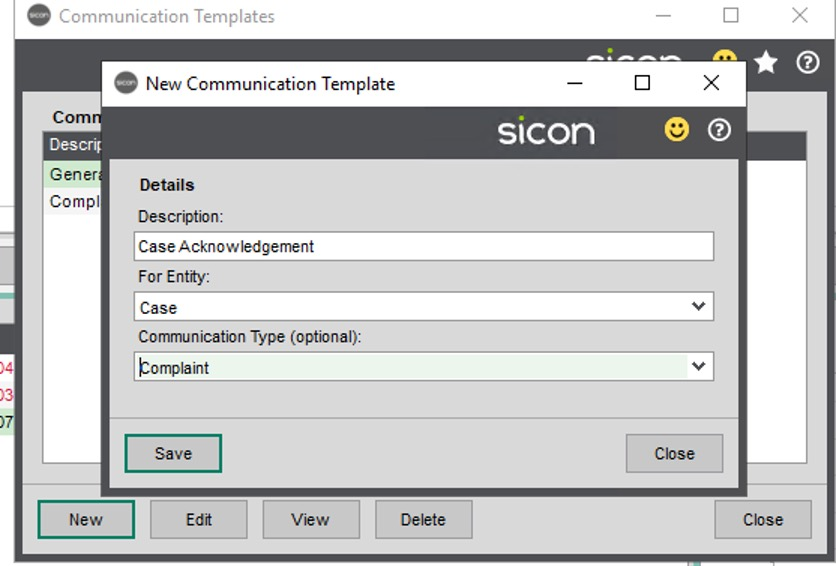 Sicon CRM Section 9.12 Image 1